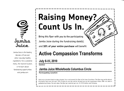 Juice for a Cause!